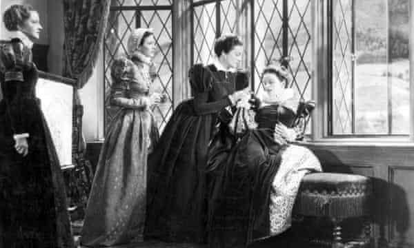 Katharine Hepburn in the 1936 RKO film Mary of Scotland.