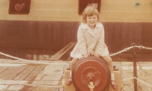 Laura James as a child