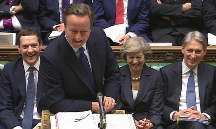 George Osborne, David Cameron, Theresa May and Philip Hammond