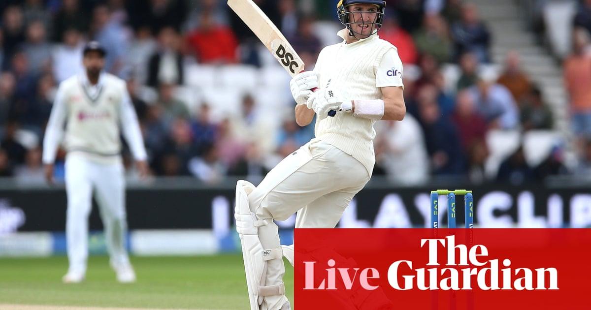 Inglaterra v India: third Test, day three – live!