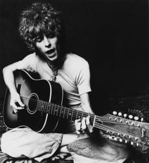 David Bowie promoting Space Oddity in November 1969