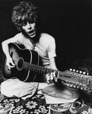 David Bowie in 1969.