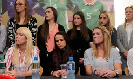 'We've been changing in public toilets': Republic of Ireland women threaten to strike