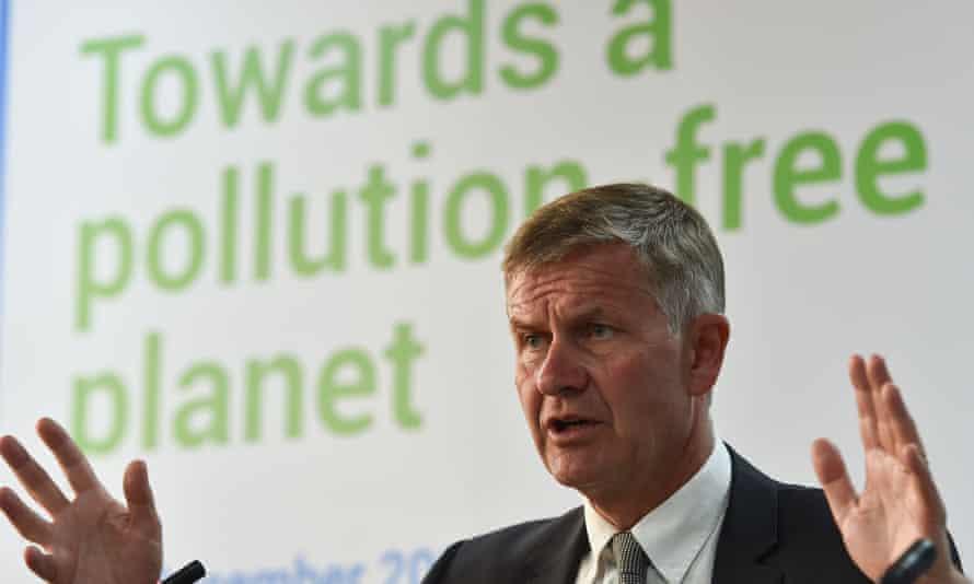 Erik Solheim, head of the UN Environment Programme