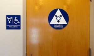 A gender neutral bathroom at the University of California, Irvine