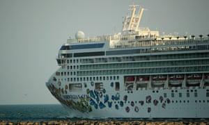 The Norwegian Gem cruise ship.