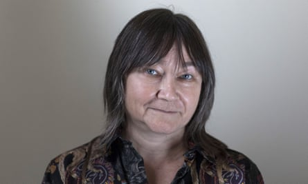 Ali Smith, author, shortlisted for the 2017 Man Booker Prize, during the Cheltenham Literature Festival on 14 October 2017.