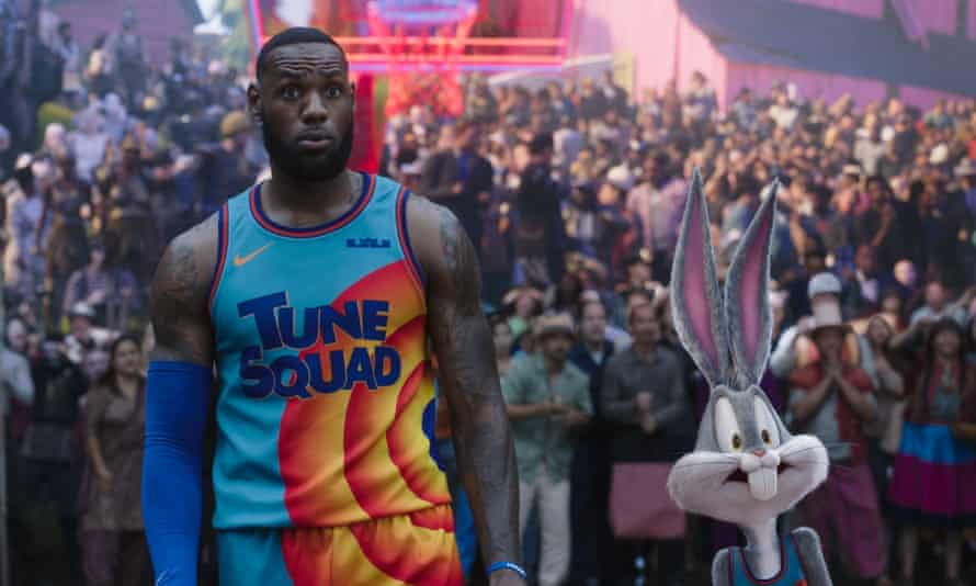 LeBron James in Space Jam: A New Legacy.