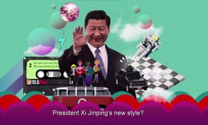 China's video promoting its five-year plan