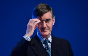 Jacob Rees-Mogg, leader of the House of Commons.