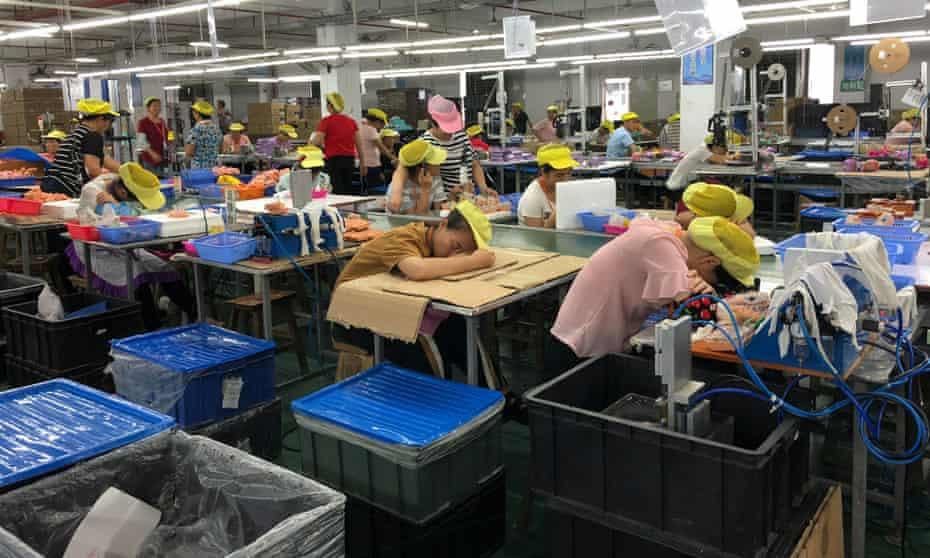 The Wah Tung factory in Heyuan