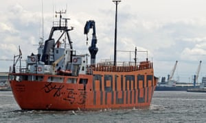 Norwegian ice-breaker The Naumon will be fitted with a high-tech sail to reduce the environmental impact of the tour.