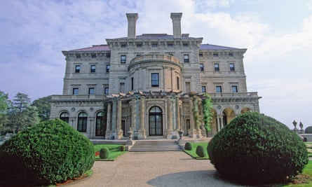The Breakers mansion built by the Vanderbilt family in Newport, Rhode Island, US.