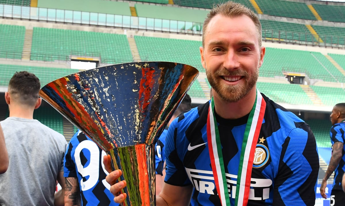 Profile of Christian Eriksen: from quiet star at Spurs to title winner at  Inter | Ajax | The Guardian