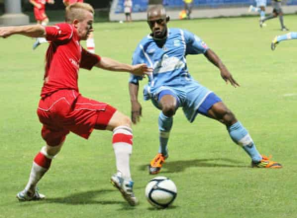 Antigua Barracuda faced Orlando City, now an established MLS side, twice in their 2013 campaign.