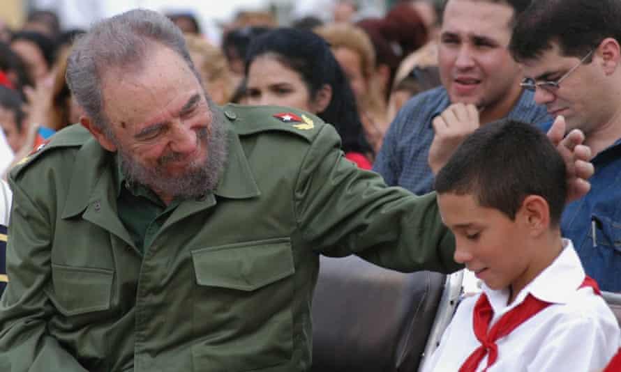 Fidel Castro with Elián González