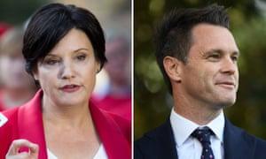 MPs Jodi McKay and Chris Minns