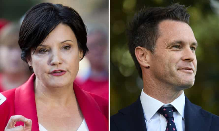 Jodi McKay's lead rival for the NSW Labor leadership, Chris Minns (right), resigned from shadow cabinet on Wednesday, signalling he is exploring a possible leadership challenge.