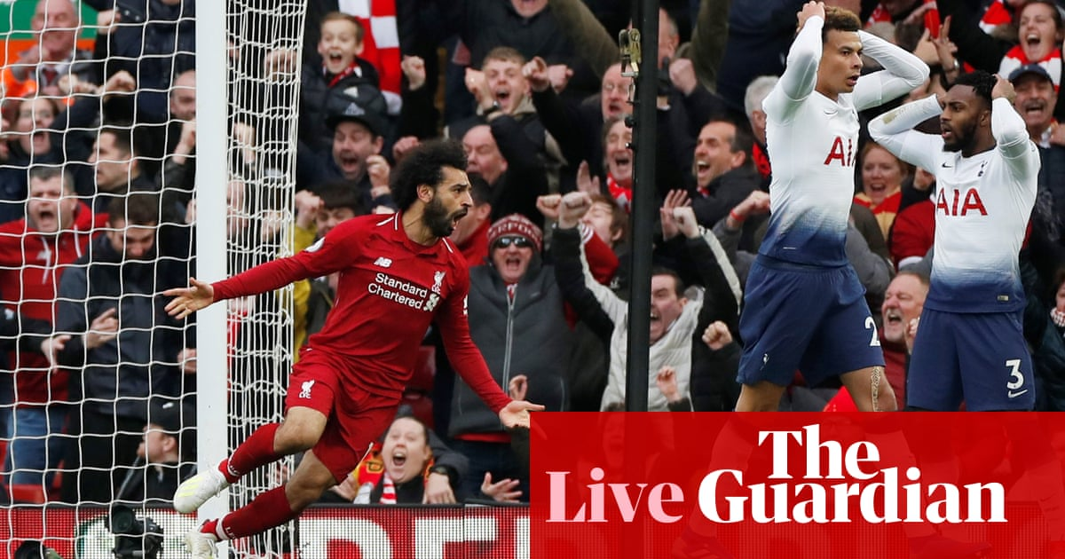 Coloriage Football Fcb.Liverpool 2 1 Tottenham Premier League As It Happened Football