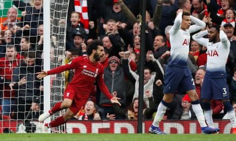 Liverpool 2-1 Tottenham: Premier League – as it happened