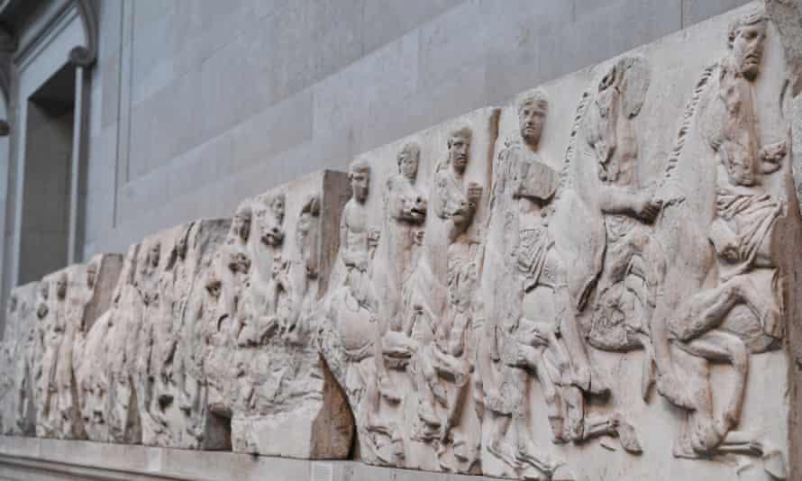 Part of the Parthenon Marbles collection.