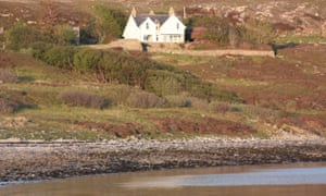 Home and away in Isle of Raasay, Ross-shire