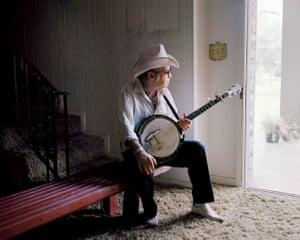 Banjo-pickin' Wade Hill. Knoxville, TN. 2014