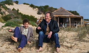 Geoffrey Rush (right) in is the new version of Australian film Storm Boy, set to open in cinemas on 17 January.