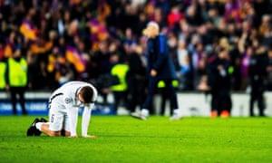 Marco Verratti encapsulates the Paris Saint-Germain mood after their Champions League exit at Barcelona.
