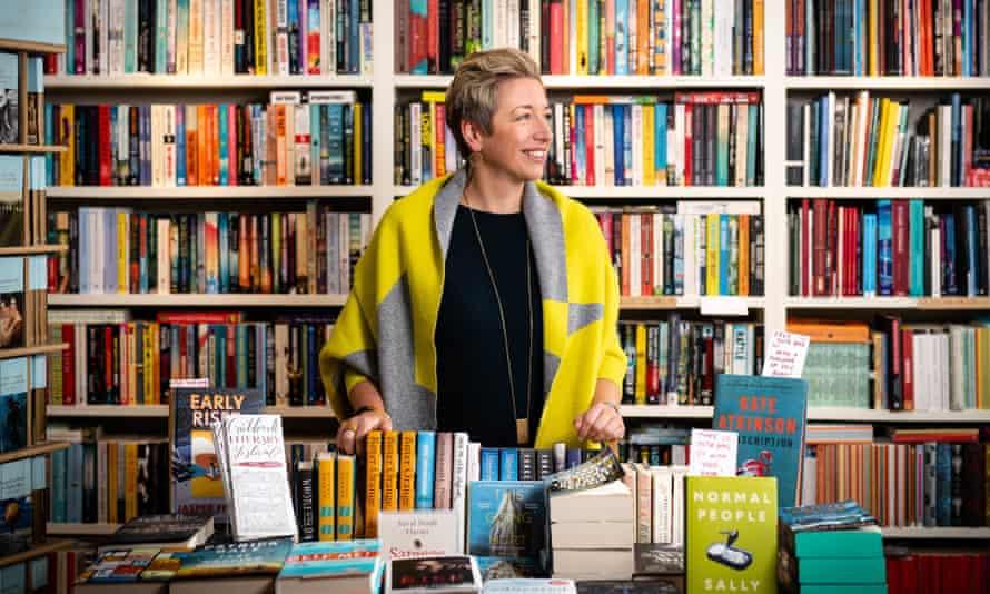 Emma Corfield-Walters, owner of Book-ish in Crickhowell, Wales