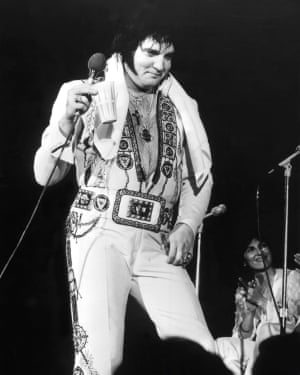 Fat Elvis, circa 1977.