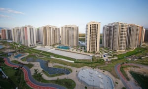 The Olympic and Paralympic Village for the 2016 Rio Olympic Games in Barra da Tijuca.