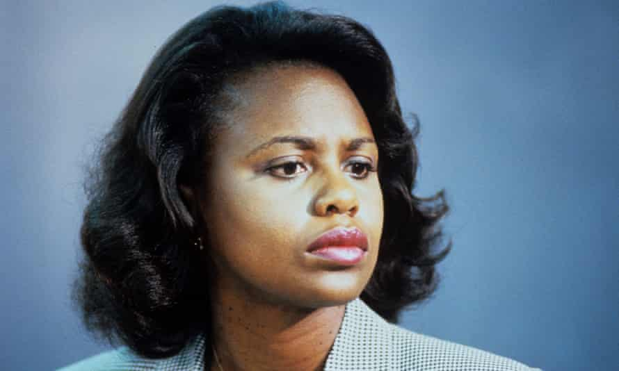 Law professor Anita Hill, who in 1991 made allegations of sexual harassment against the US supreme court nominee Clarence Thomas
