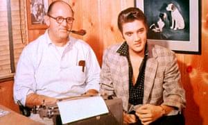 Colonel Tom Parker and Elvis Presley