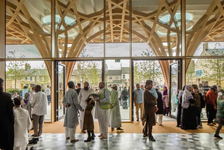 Expanding … Cambridge Central Mosque.