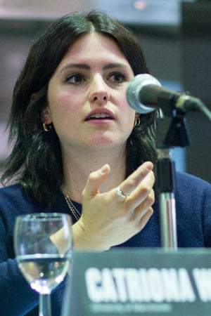 Catriona Watson speaking at Discuss/Guardian Live, 30 September 2015.