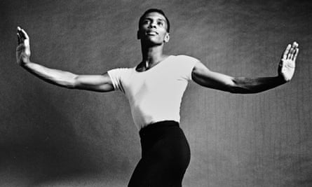 Arthur Mitchell dancing with New York City Ballet, 1963.