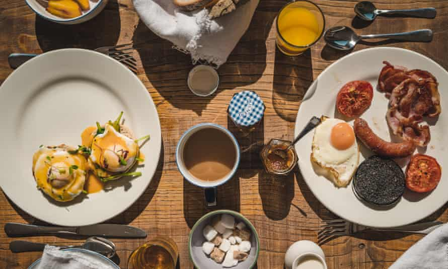 Hearty breakfasts at the Hame Hotel in Dunvegan