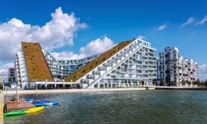 8 House in the Ørestad quarter of Copenhagen, designed by the architect Bjarke Ingels.