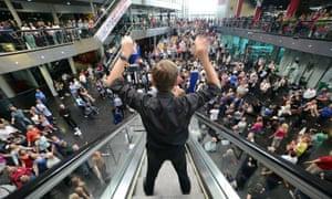 David LANG'S Crowd Out premiere at Birmingham MILLENNIUM Point