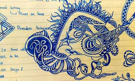 What your work doodles really say about you