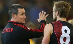 Bombers head coach John Worsfold will be very happy with his side's endeavour in the second term.