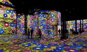 Paris's first digital art museum: all lit up at Atelier des