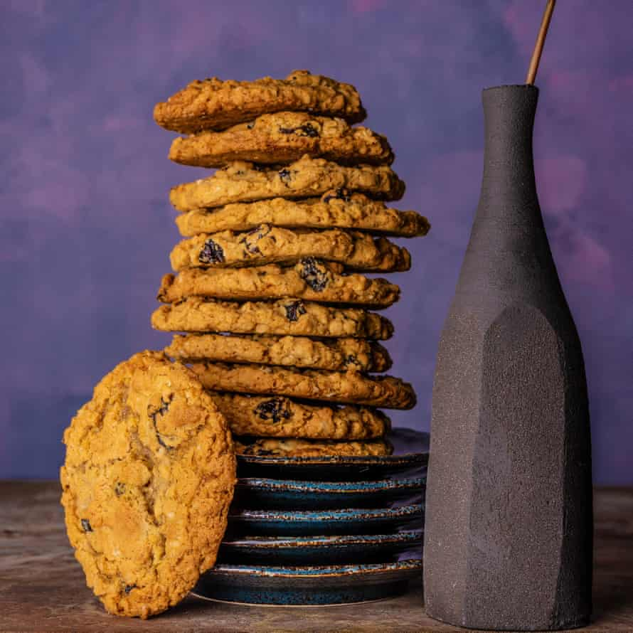 Egg yolk chocolate chip cookies Claire Ptak 20 best biscuits supplement Observer Food Monthly OFM