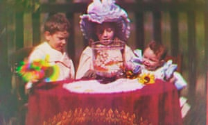 Back to the beginning … one of the earliest colour moving pictures ever made, by cinema pioneer Edward Turner, 1902.