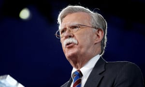 John Bolton. Trump has replaced HR McMaster, seen as a moderating force, with one of the most aggressive thinkers in US foreign policy.