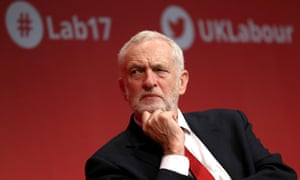 Jeremy Corbyn at the Labour conference in Brighton
