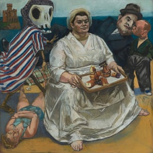Paula Rego's The Cake Woman