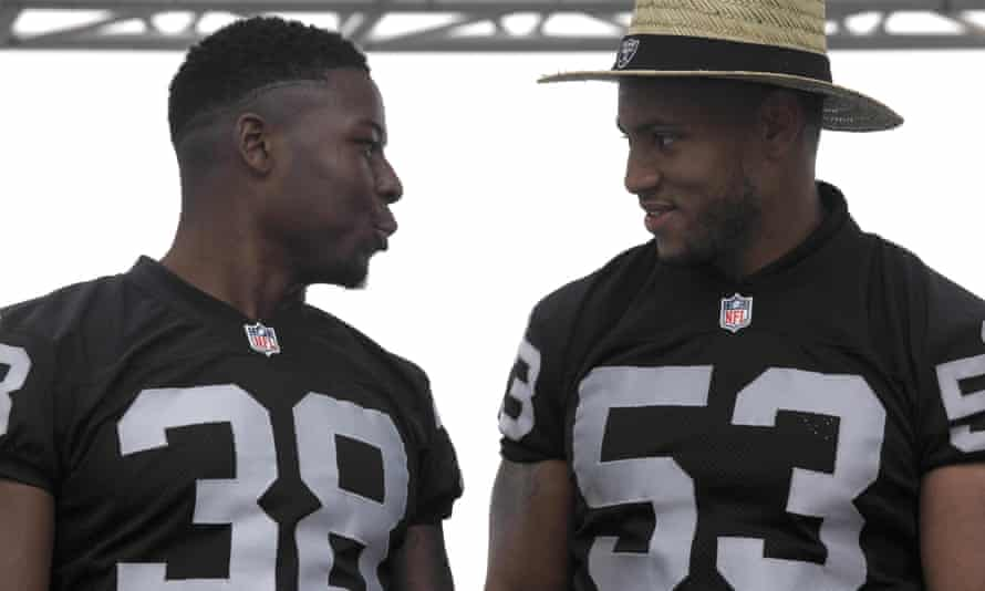 Malcolm Smith and TJ Carrie are part of an Oakland team with a bright future