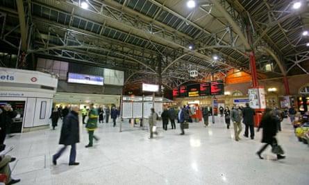 Marylebone rail station